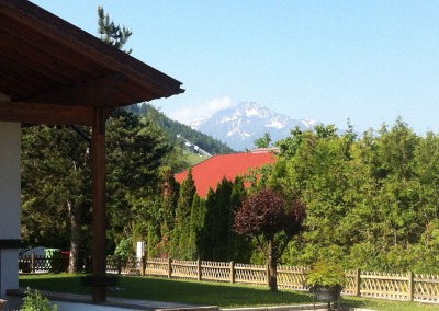 Ausblick/view/vista - giardino