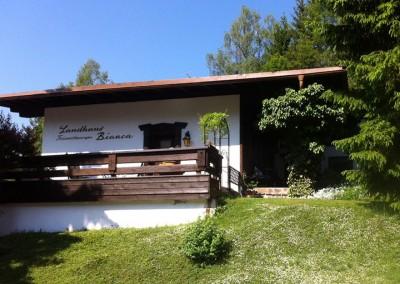 Landhaus Bianca aussen/Landhaus Bianca outside/Landhaus Bianca  da fuori